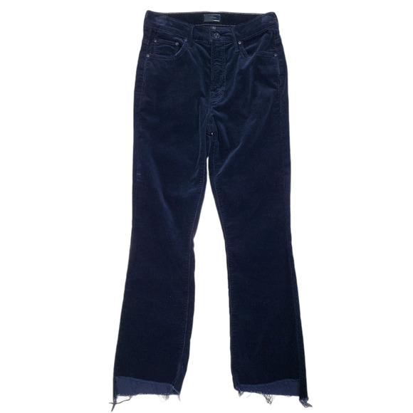 MOTHER Jeans The Insider Corduroy Ankle